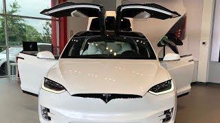 Tesla Model X Review - Part 1 (Christmas Mode) | Faisal Khan