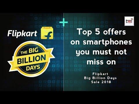Flipkart Big Billion Days Sale 2018: Top 5 offers on smartphones you must not miss