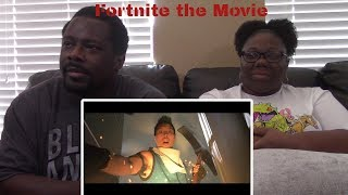 FORTNITE The Movie (Official Fake Trailer) REACTION!!