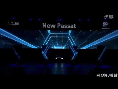 car show of new Passat launch event