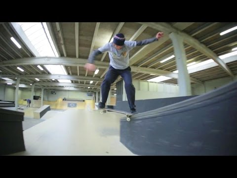 Axel Cruysberghs Rips The Rampaffairz Skatepark