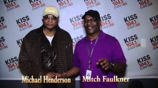 Special Guest tonight Michael Henderson with Mitch Faulkner on KISS 104 1 FM