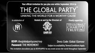 Cavalli Club  The Global Party Invitation