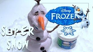 Disney Frozen Olaf the Snow Man Super Snow - Kids' Toys