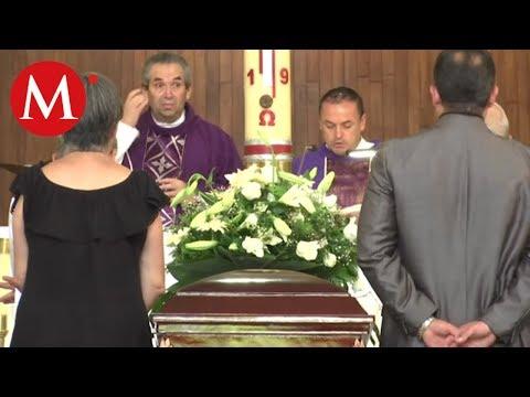 Dan último adiós a pareja que falleció en choque con Joao Maleck