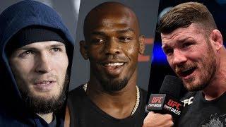 Хабиб о молодом тяжеловесе UFC: он может стать чемпионом, Джон Джонс о переходе в тяжелый вес