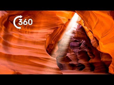 Planet Earth II - Arizona Beautiful Desert Canyons 360°