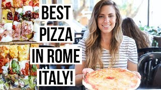 Pizza Tour in Rome, Italy: 3 BEST Pizzerias in the Eternal City!