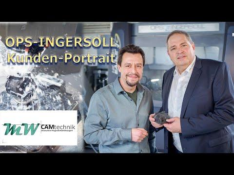 OPS-INGERSOLL Kundenportrait MW-CAMtechnik High Speed Eagle V9