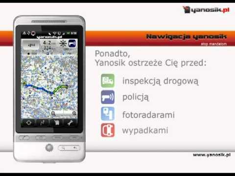 Yanosik - nawigacja antyradar wideo
