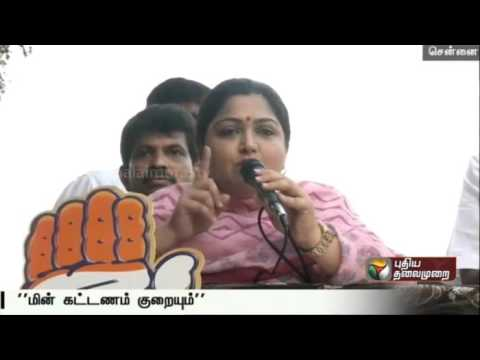DMK-Manifesto-is-the-Best-says-Kushboo-in-Chennai