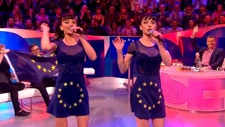 The Cheeky Girls 'Cheeky Song (Touch My Bum)' Parody - The Last Leg