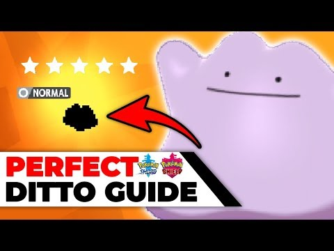 How To Get A Perfect 6 IV Ditto In Pokémon Sword & Shield (6 IV Ditto Farming Guide)