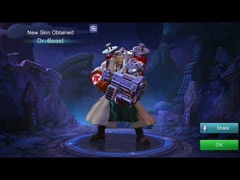Roger Epic Skin  Dr. Beast Mobile Legands