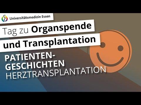 Patientengeschichte: Herztransplantation