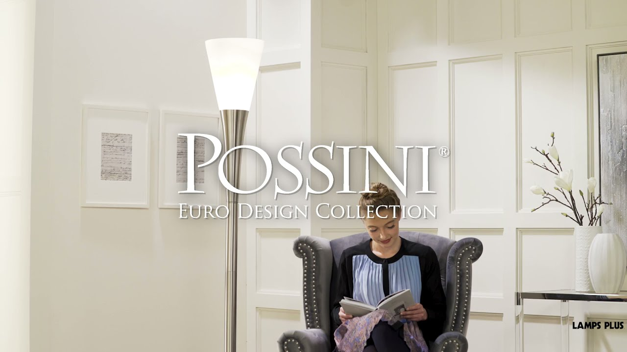 Video About the Possini Euro Piazza Tochiere Floor Lamp