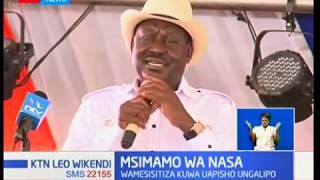 Msimamo wa NASA:Vinara wa NASA wasisitiza kuwa uapisho ungalipo