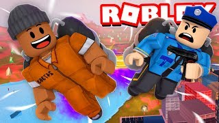 I broke out of JAIL & bought the NEW JETPACK in Roblox Jailbreak!