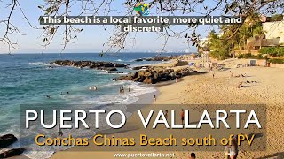 How to walk to Conchas Chinas Beach in Puerto Vallarta
