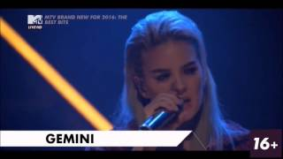 Anne- Marie - Do It Right & Gemini  LIVE @ MTV BRAND NEW FOR 2016 | former Rudimental singer