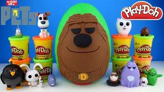 The Secret Life of Pets Movie Duke Play Doh Egg - Secret Life of Pets Toys, Superheroes & Disney Toy