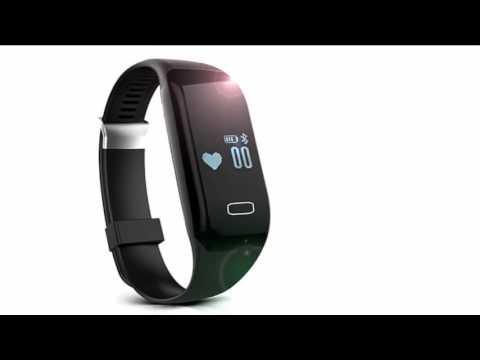 Pulsuhr Fitnessarmband H3 Aktivitätstracker Uhrenarmband mit Herzfrequenzüberwachung Schrittzähler