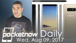 Samsung Galaxy Note 8 ForceTouch, iPhone 8 notification system & more - Pocketnow Daily