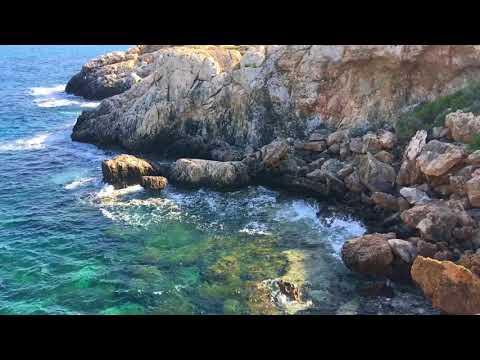 Rocks, Sea and Waves. Скалы, море и волны.