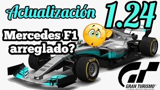Gran Turismo Sport - Actualización 1.24 | Arreglan el Mercedes w08 F1