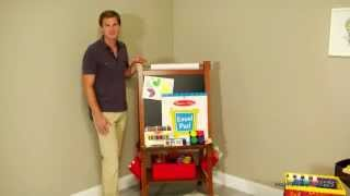Melissa and Doug Easel Activity Set - Product Review Video