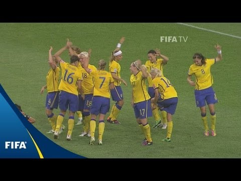 Dancing Swedes shock USA