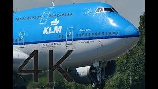223 MIN HEAVY Plane Spotting, Close Up - 4K