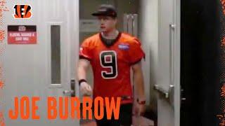 Joe Burrow Hits The Field For Practice: First Look | Cincinnati Bengals