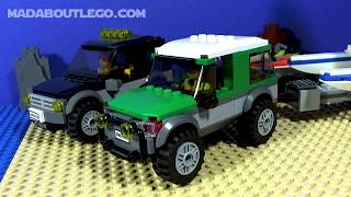 LEGO CITY  Truck with Catamaran 60149