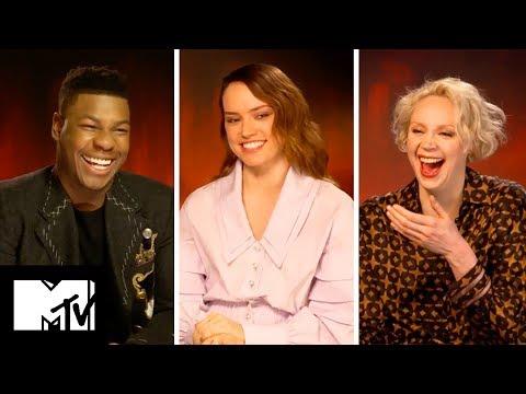 Star Wars: The Last Jedi Cast Reveal FUNNIEST Moments   MTV Movies
