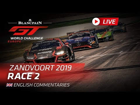 RACE 2 - ZANDVOORT - BLANCPAIN GT WORLD CHALLENGE 2019 - ENGLISH