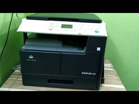 Konica Minolta Bizhub 206 Multifunction Printer
