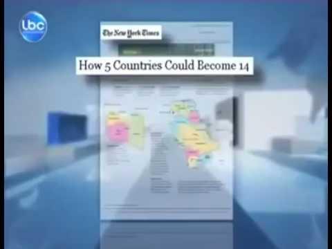 نيويورك تايمز تنشر خارطة جديدة للمنطقة، بموجبها 5 دول ستصبح 14 دولة