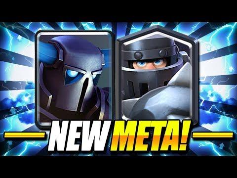 UNSTOPPABLE NEW META COMBO!! PEKKA + MEGA KNIGHT IS INSANE!! - Clash Royale