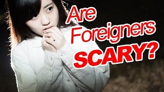 Why Some Japanese Feel Scared of Foreigners