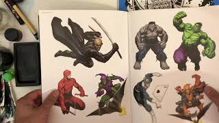Unboxing Of Frank Cho's 20 Year Of Art Book