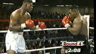 1987-10-16 Mike Tyson -Tyrell Biggs