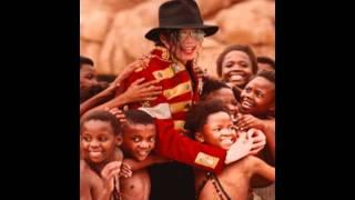 Michael Jackson Ayudando África