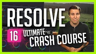 Resolve 16: The Ultimate Crash Course – DaVinci Resolve Basic Training – Casey Faris