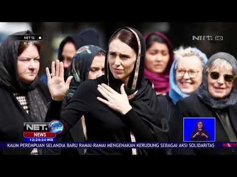 Ratusan Muslim Salat Jumat di Hagley Park, Selandia Baru NET12