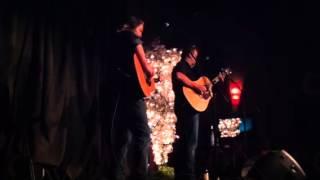 Brandon Rhyder performing Mr Soldier at Main Street Crossin