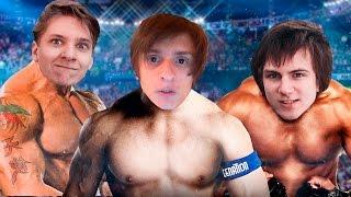 ПОТНЫЕ МУЖИЦКИЕ ОБНИМАХИ  [WWE 2015]