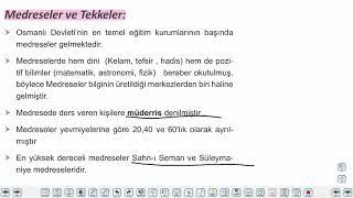 Eğitim Vadisi 10.Sınıf Tarih 10.Föy Beylikten Devlete Osmanlı Siyaseti Konu Anlatım Videoları