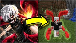 Tokyo Ghoul PvP Texture Pack MCPE W FOR IOS - Skins para minecraft pe tokyo ghoul