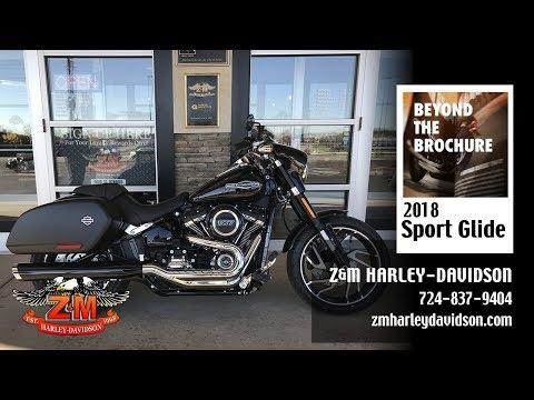 2018 Harley-Davidson Sport Glide™ in Greensburg, Pennsylvania